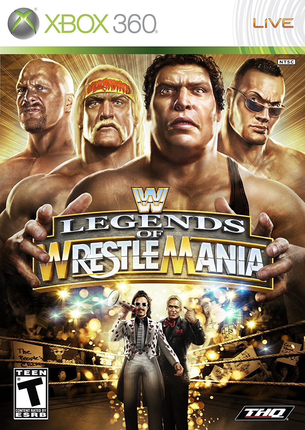 360: WWE LEGENDS OF WRESTLEMANIA (BOX)